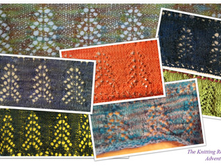 Advent Scarf: Days 23 and 24