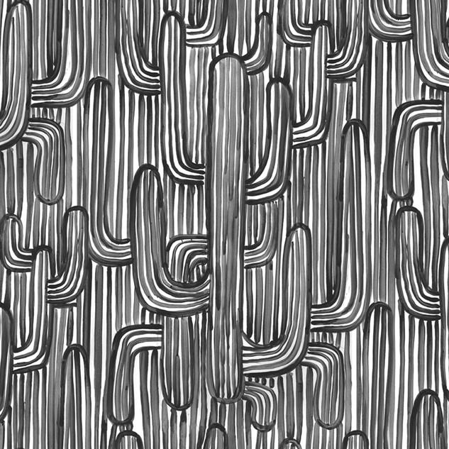 Sonora wallpaper - Black