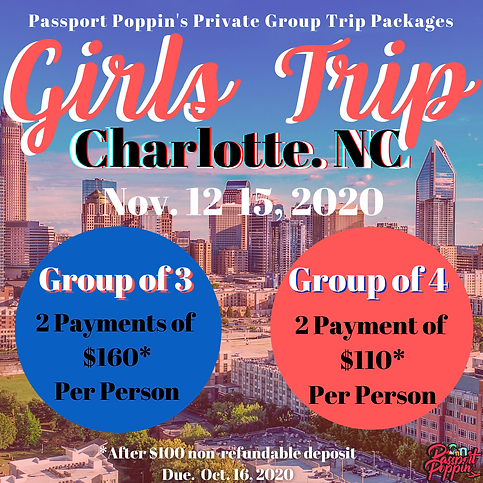 Passport Poppin's Private Group Packages