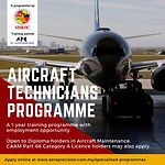 SAE Aircraft Technicians Programme 2018.