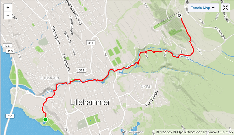 Løypetrase_Lillehammer_18.08.2019_strava