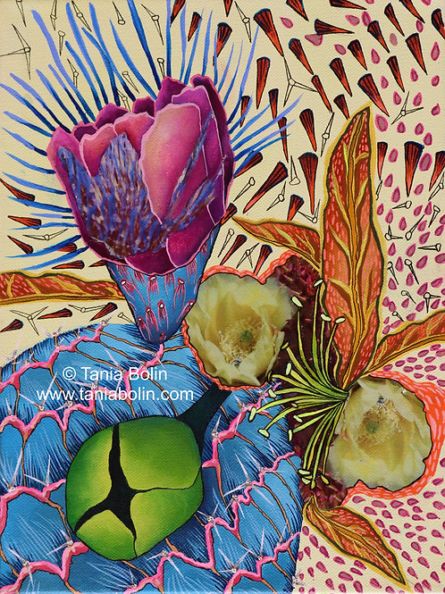"""Limited Edition Print of """"Mis Frutos, Mis Riquezas"""" - Matted"""