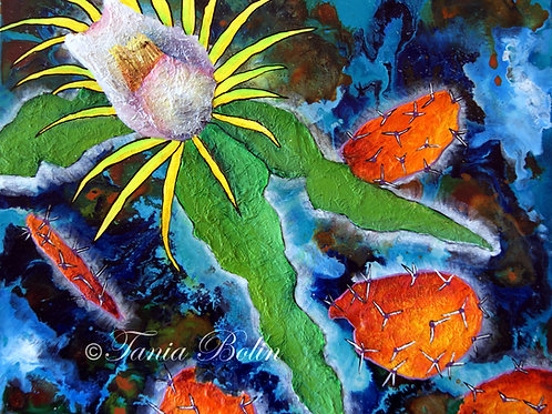 Limited Edition Print 'Flora Desierta' - Matted