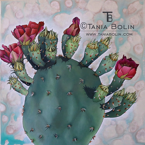 """Limited Edition Giclée of """"Nopal"""""""