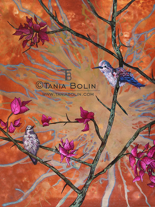 """Limited Edition Print of""""Colibris"""" - Matted"""