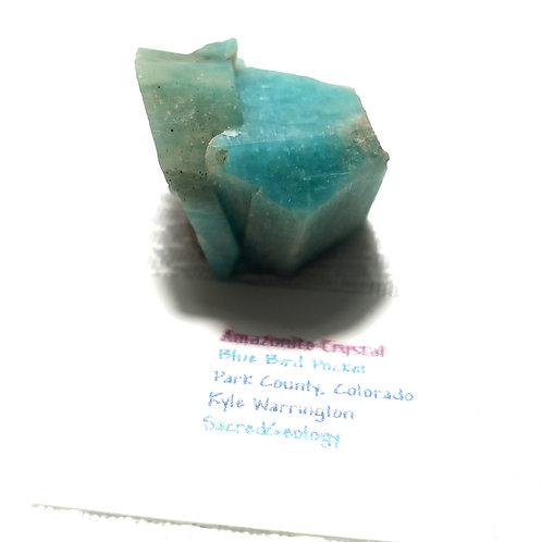 Twinning Amazonite Crystal