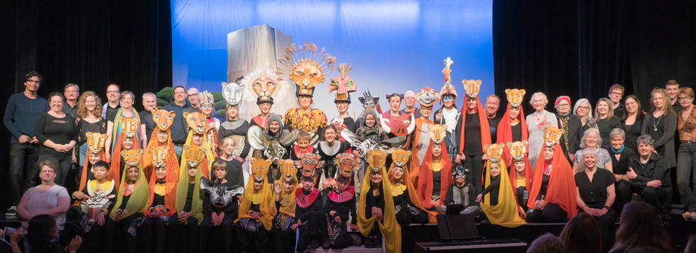 Lion King Cast and Crew