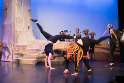 Lionesses Dancing