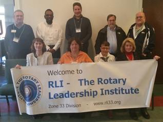 Dupont Rotarian Deborah Foti Participates in Zone 33 RLI