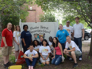 D.C. Public Schools Beautification Day!