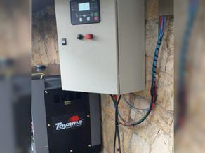 Instalação de gerador de energia em São Paulo