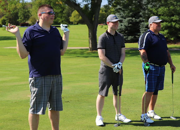 BisonCares Golf Package - Three Golfers