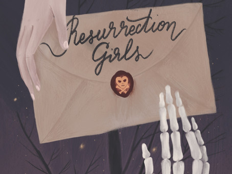 Resurrection Girls Cover Reveal + New Website