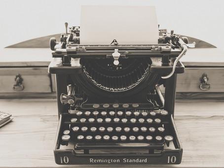Writing vs. Editing