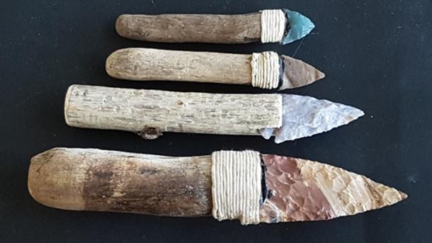 Steinzeitmesser herstellen