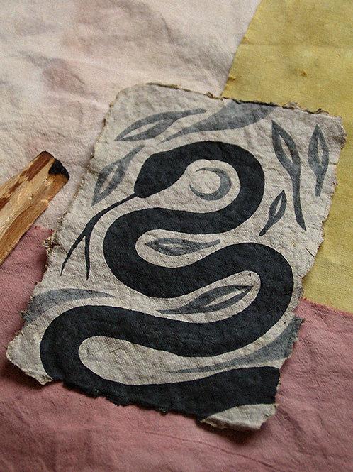 Original Serpiente En El Campo