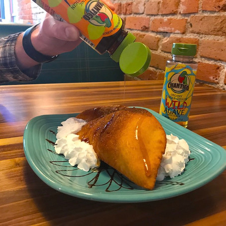 Sopapillas with Agave
