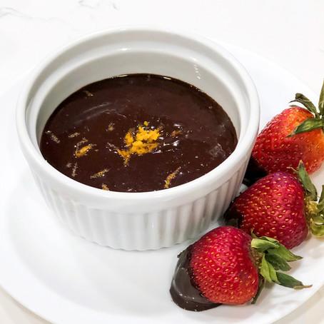 Orange Agave Chocolate Sauce