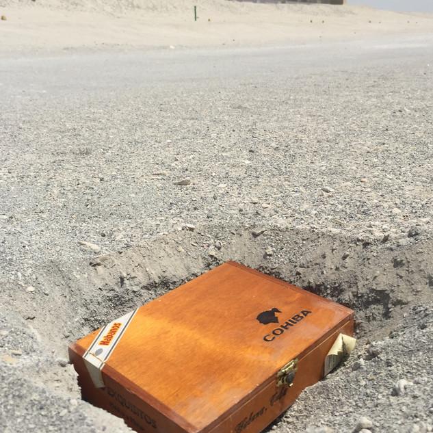 Desert note 1 in hole