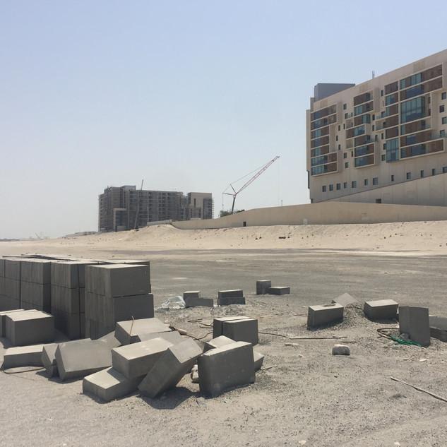 Desert note burial location