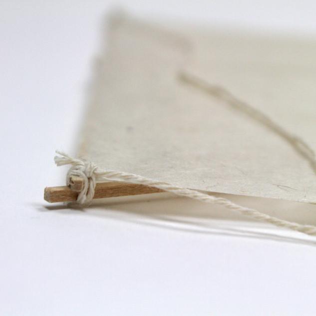 Korean kite bridle attachment