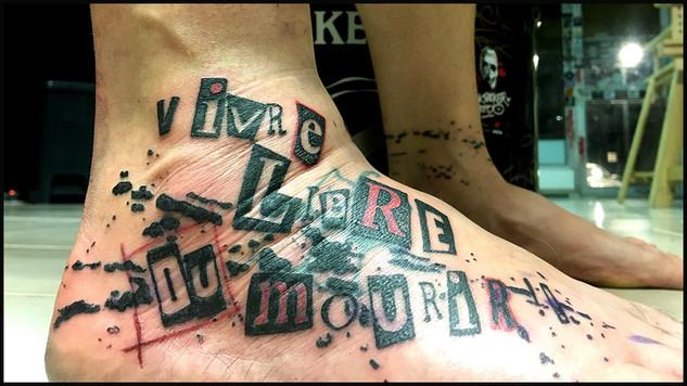 """""""vivre libre ou mourir"""""""