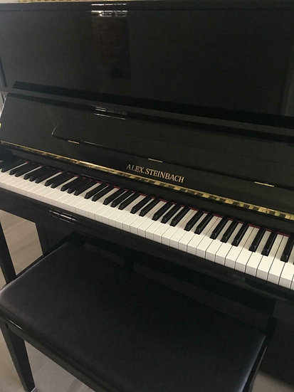 Alex Steinbach 121 upright piano
