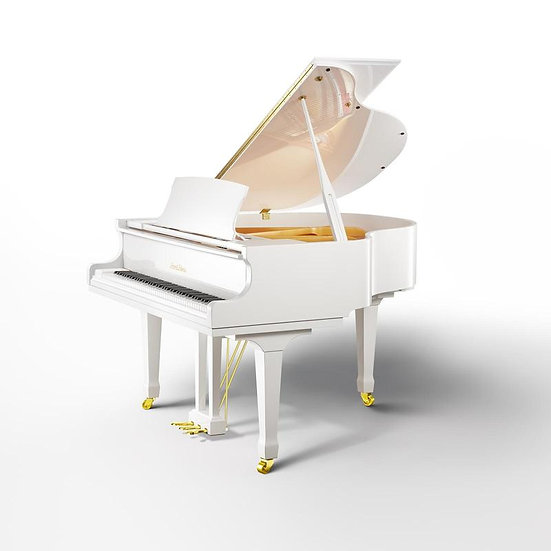 BEALE GP148 Baby Grand Piano (White)