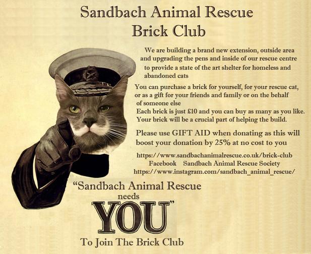 Brick club poster