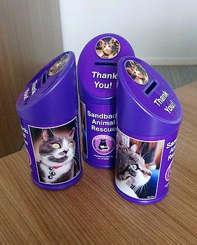 Sandbach Animal Rescue Collection Boxes