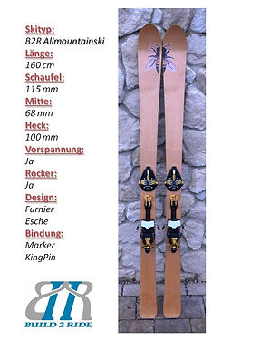 Build2Ride Allmountainski 160 Esche King