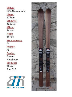 Build2Ride Allmountainski 175 Nussbaum M