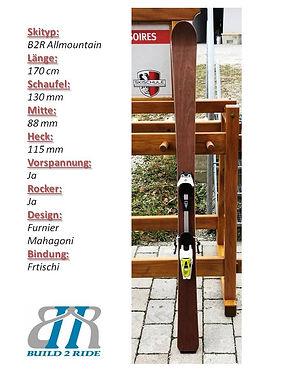 Build2Ride Allmountainski 170 Furnier.jp