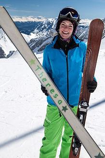 Der individuell designte Ski selbst gebaut bei Build2Ride