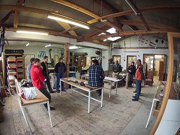 Skibau und Snowboardbau Werkstatt in Farchant (c) David Schaeffler