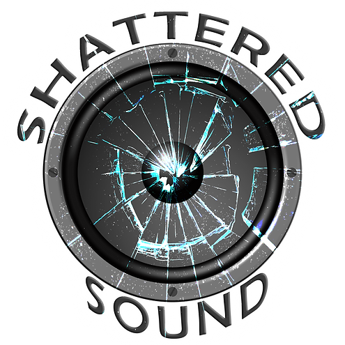Shattered Sound Logo with Glow (Smaller)