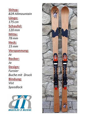Build2Ride Allmountainski 175 Buche Spee