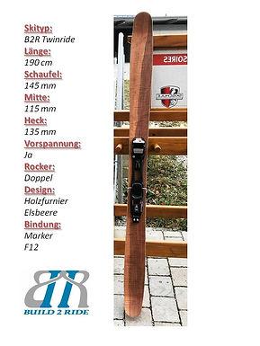 Build2Ride Twinride 190 Marker Elsbeere.