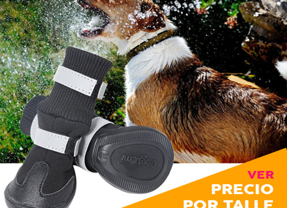 Botitas / zapato para Perros con suela de goma Anti deslizante