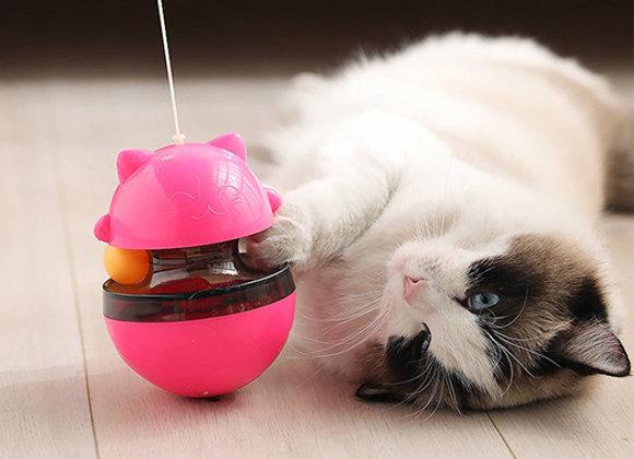 Tentempié - Juguete Dispensador de alimento para gatos