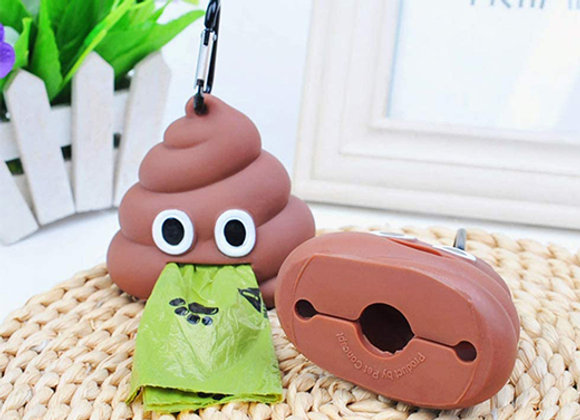 Dispensador de bolsitas - Poop
