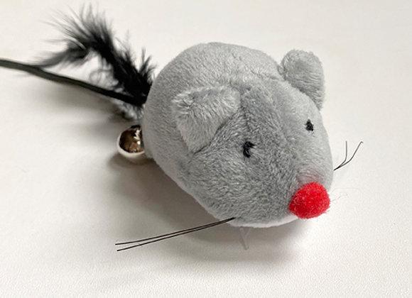 Ratoncito con cascabel y cuerda