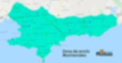 Zona de envio Montevideo - Mostaza PetSh