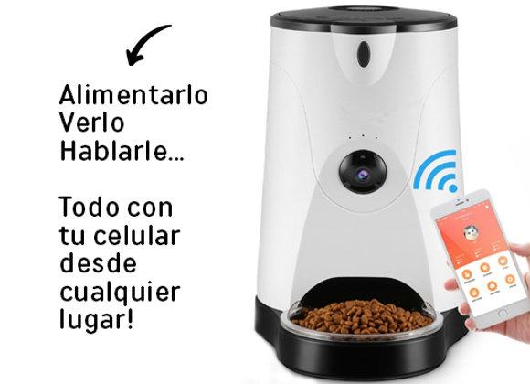 Dispensador de comida - Cámara HD y Micrófono