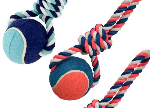 Pelota gigante con cuerda