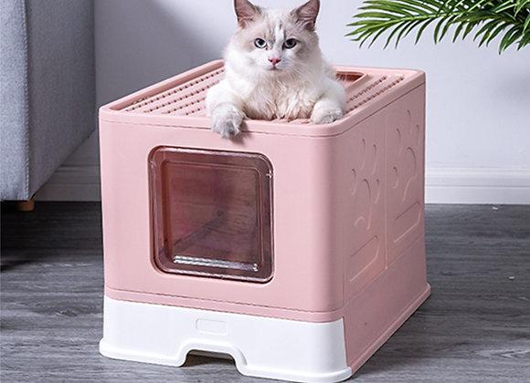 Baño sanitario  para gatos con bandeja extraíble
