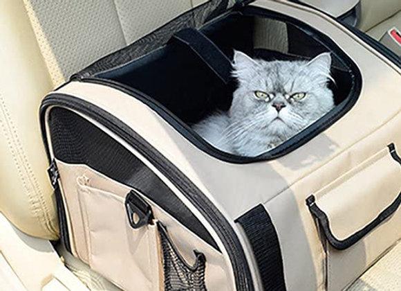 Asiento para auto y bolso transportador