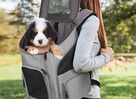 Mochila para transportar a tu mascota