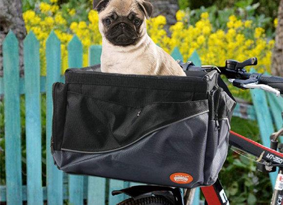 Canasto transportador para bicicleta