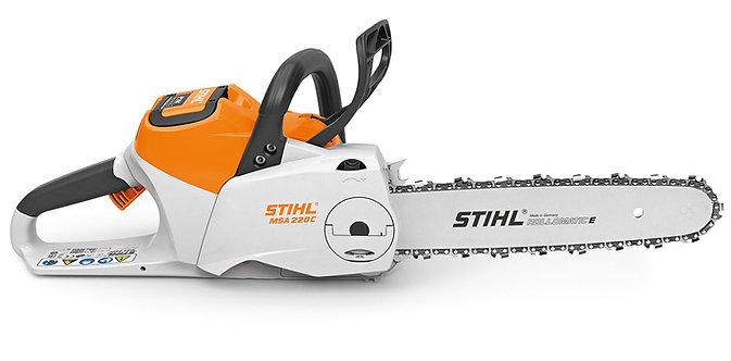 Scie à chaîne Stihl à batterie MSA 220 C